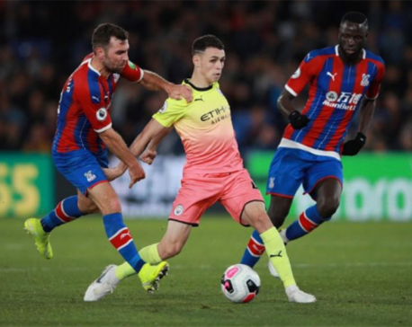 City's punchy one-two sees off Palace