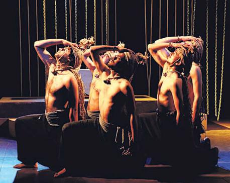 'Antigone' in Mandala Theatre