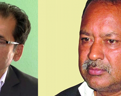 Minister Thapa holds meeting with key leader of Chand-led outfit
