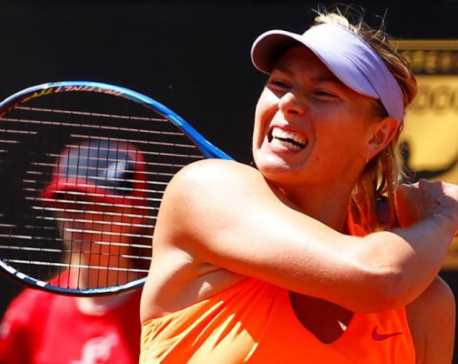 Sharapova, Halep advance at Shenzhen Open