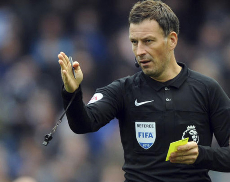 Clattenburg opens up on coping with errors