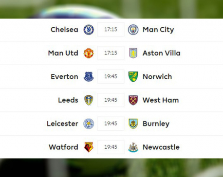 Matchday 6: Chelsea to play Manchester City at home, United up against A Villa