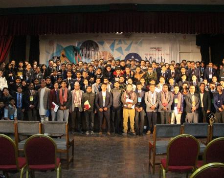 Math League at Budhanilkantha School
