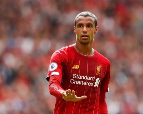 Liverpool's Matip, Fabinho in line for injury return against Man Utd