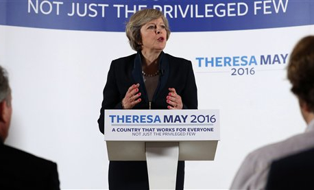 Stealth candidate Theresa May to be Britain's next PM