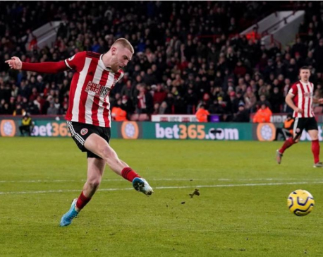 Sheff Utd up to fifth after VAR seals win over West Ham