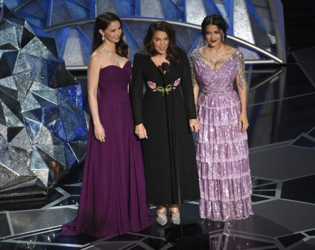 No dress code, but plenty of references to MeToo at Oscars