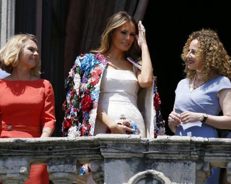 Melania Trump's$51,000jacket draws attention in Sicily
