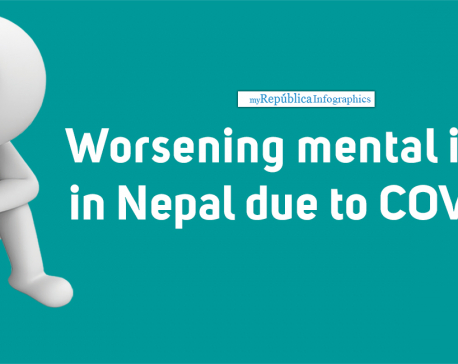 COVID-19 pandemic likely to unleash a long-term mental health issues in Nepal