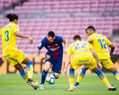 Barcelona preparing to freshen referendum hangover with win against Atletico Madrid