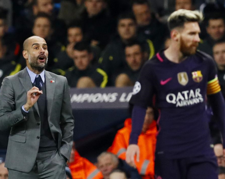Argentines hoping for Messi-Guardiola reunion at City