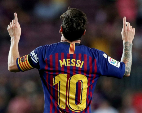 Messi will not attend Barcelona training on Monday, Spanish media report