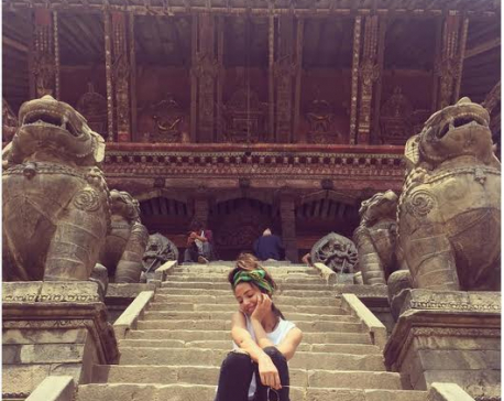Feeling very blessed and thankful in Nepal: Keegan