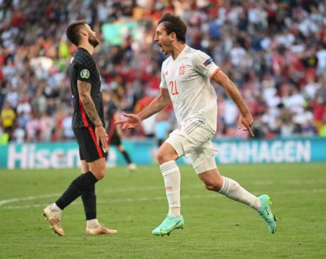 Spain beat Croatia in eight-goal thriller as Morata answers critics