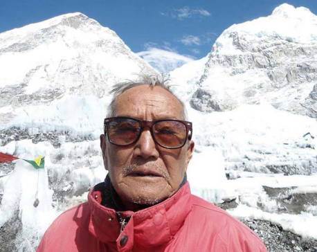 Octogenarian mountaineer Sherchan passes away at Everest Base Camp