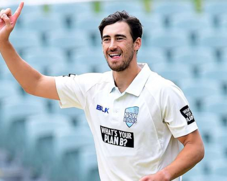 Starc takes second hat-trick in same Sheffield Shield match
