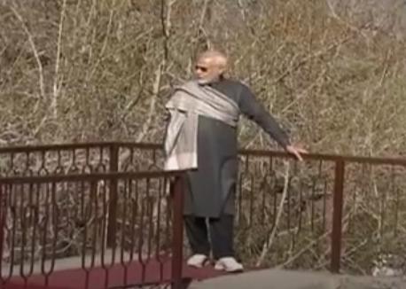 Indian PM Modi reaches Muktinath Temple