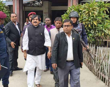 Congress leader Alam presented before Rautahat District Court