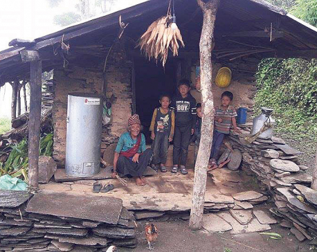 Monsoon drenching  quake victims once again