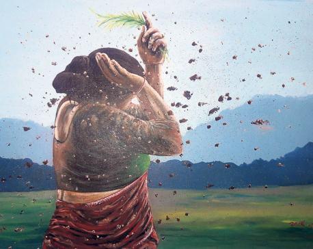 Monsoon on Canvas