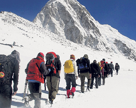 More people aspire to climb Mount Manaslu this autumn