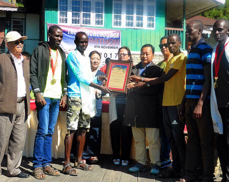 Kenyan runner wins Mount Everest Prize in Kanchenjunga Marathon