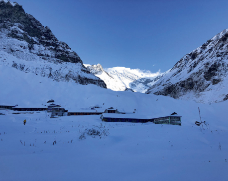 New team flying to avalanche area today to search for 7 trekkers