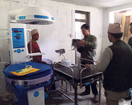 Medical equipment worth millions of rupees gather rust