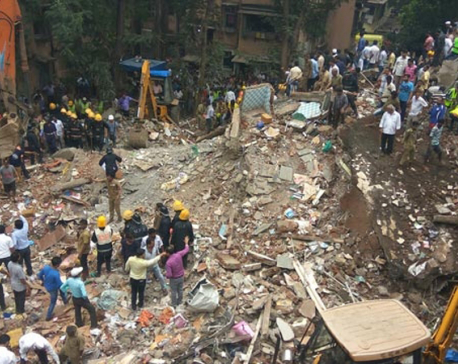 Mumbai building collapse kills at least four, many feared trapped