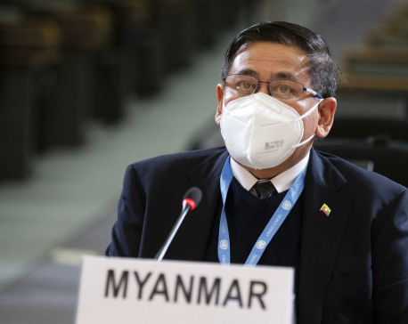 UN rights body adopts watered-down text on Myanmar coup