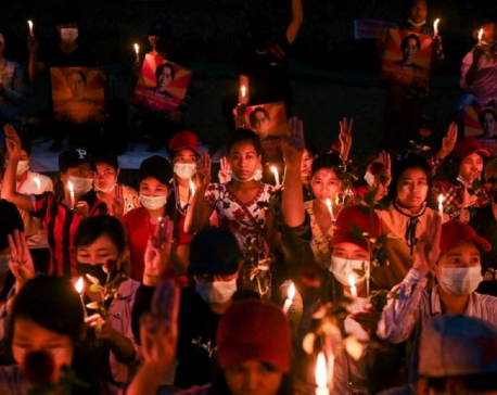 Myanmar protesters call for general strike against coup