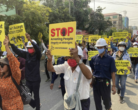 Myanmar junta orders martial law in 6 Yangon townships