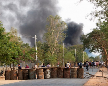 Myanmar security forces with rifle grenades kill over 80 protesters - monitoring group