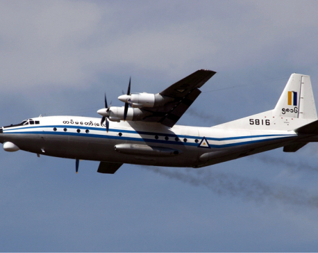 Myanmar military plane with 104 aboard goes missing