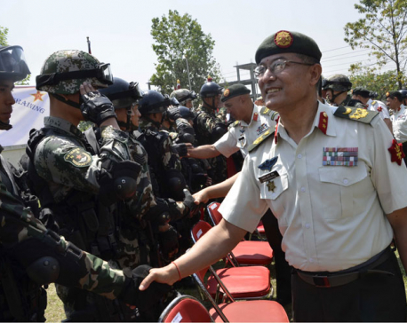 First ever Nepal-China joint military training on counter-terrorism kicks off