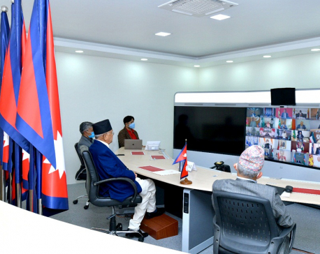 PM Oli calls for global response to fight coronavirus