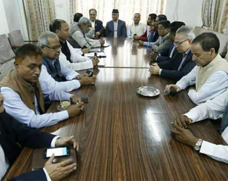 NC, Maoist Centre, Madhesi Morcha to forward no-confidence motion