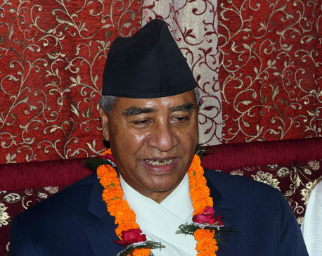 NC President Deuba urges govt to work on war-footing against COVID-19