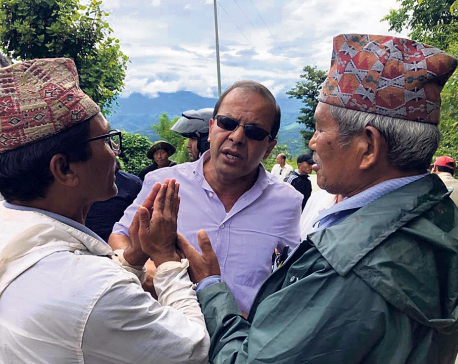 NCP cadres stop NC leader Rijal on the way for 3 hours