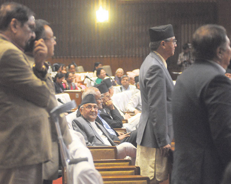 NC stalls parliament over quake grants