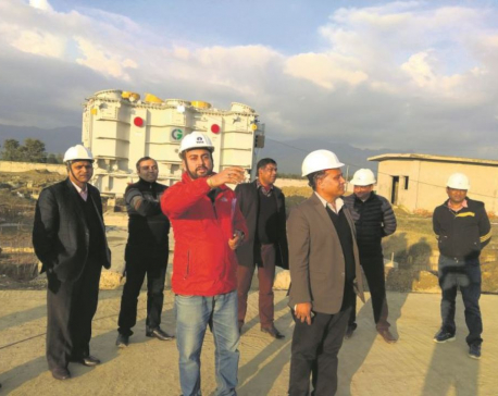 Construction of New Butwal and East Chitwan substations at final stage