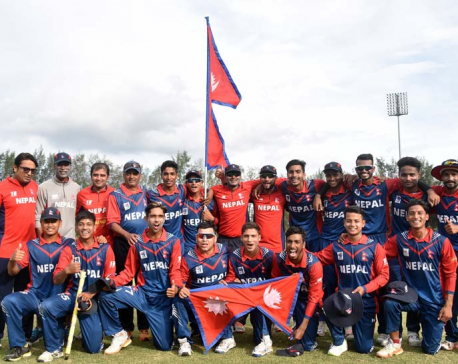 Re-live Nepal's historic win over India at Youth Asia Cup (Photo feature)