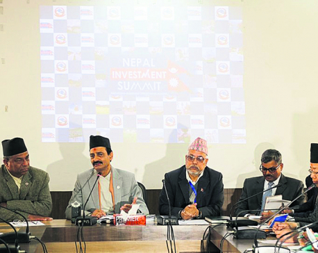 Nepal Investment Summit from Thursday