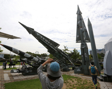 NKorea fires missile over Japan in aggressive test