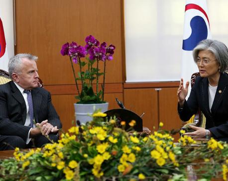 Diplomats from Washington, Seoul, Tokyo talk N. Korea threat
