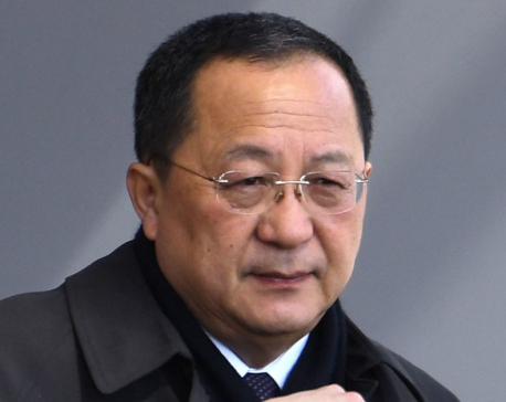 North Korean foreign minister visits Sweden