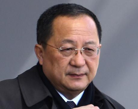 North Korean foreign minister visits Sweden