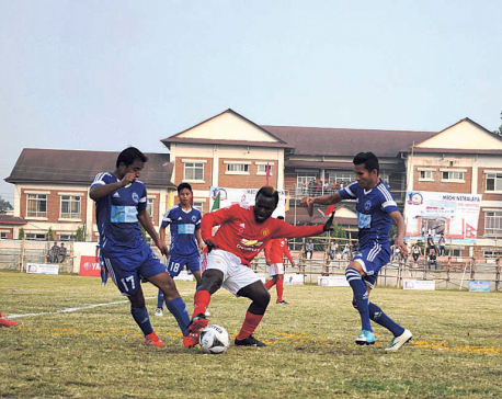 NPC thrashes SCBC to enter Kakarbhitta Gold Cup semis