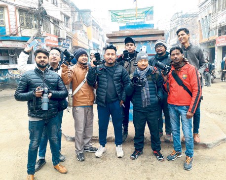 Nepalgunj youths' love  of photography