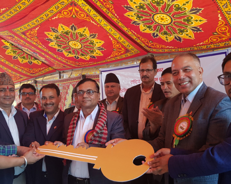 Reconstructed office buildings of five govt offices inaugurated in Sindhupalchowk